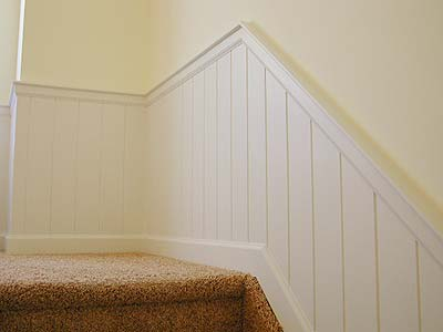Enduring Charm LLC Stairway Wainscoting