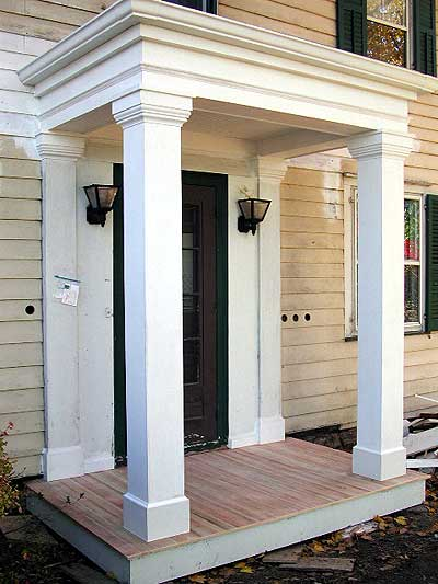 Enduring Charm Llc Greek Revival Porch